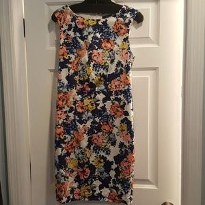 Limited floral print dress